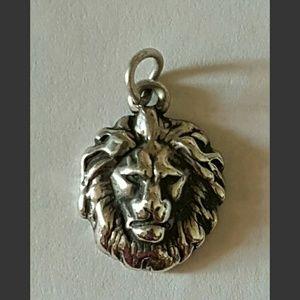 Retired Rare James Avery Silver Leo Lion Charm